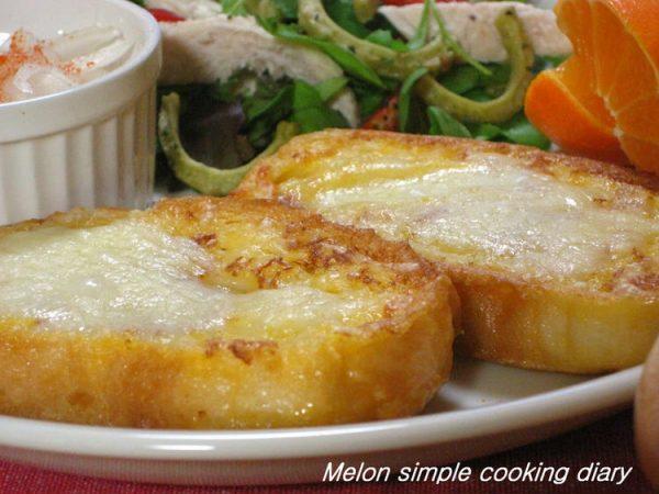 チーズフレンチトースト♪ by :メロンさん
