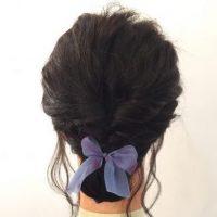 くるりんぱ+三つ編みで簡単♪ふんわり「お出かけヘア」の作り方