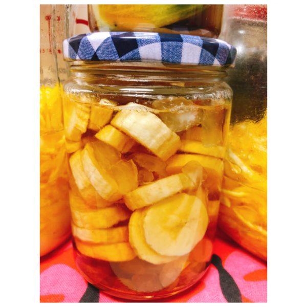 便秘改善やダイエットに効果的♪朝に飲みたい滋養強壮ドリンク「バナナのサワーシロップ」
