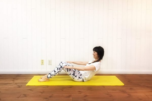 食べ過ぎた時の強い味方!下腹スッキリ「つらくない腹筋」♪ by TOMOKOさん