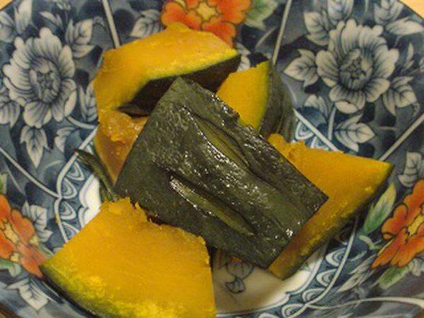 レンジで5分!とっても簡単かぼちゃの煮物 by:桜貝の想い出さん