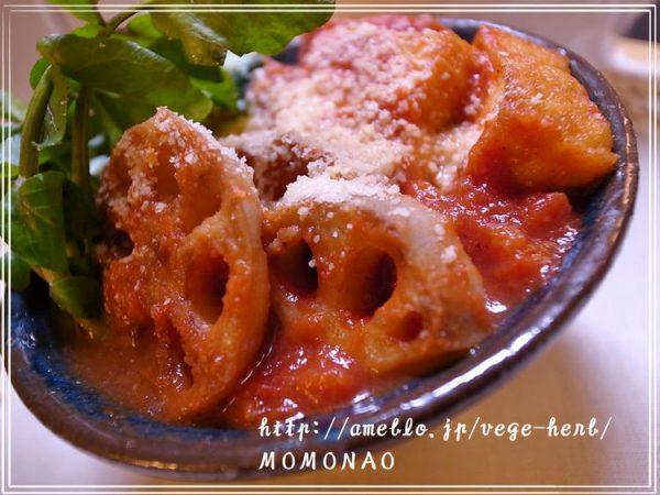 野菜と厚揚げのラビアータスープMOMONAOさん