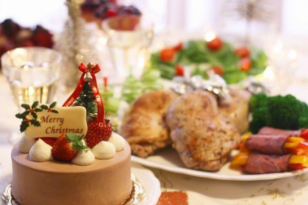 クリスマスのお祝い