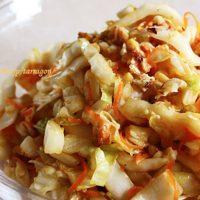 ヘルシーな大量消費レシピ!10分で簡単「白菜のしゃきしゃきコールスロー」