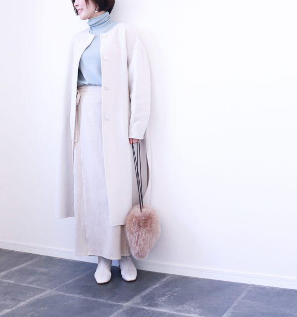 今買うならきれい色が正解!UNIQLO「タートルネックセーター」着回し