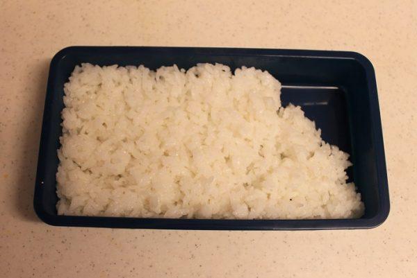 2品弁当の詰め方