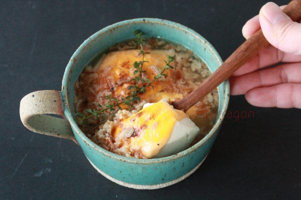 連載「手軽でおいしい「朝すぐスープ」と簡単ごはん。」 by : タラゴン(奥津純子)さん
