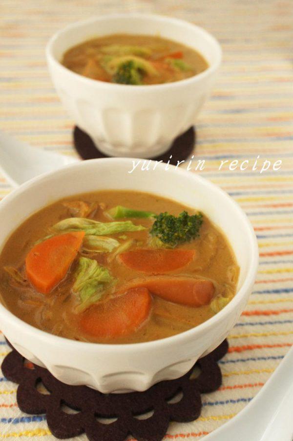 (白菜のカレーミルクスープ ?by :ゆりりんさん)