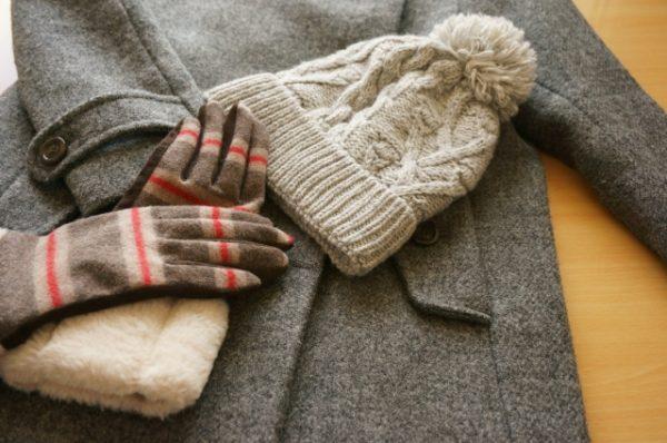 コートや手袋