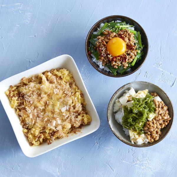 忙しい年末の体調管理に!朝の時短「納豆ご飯」アレンジ3種  by :まきあやこ/Perch.さん
