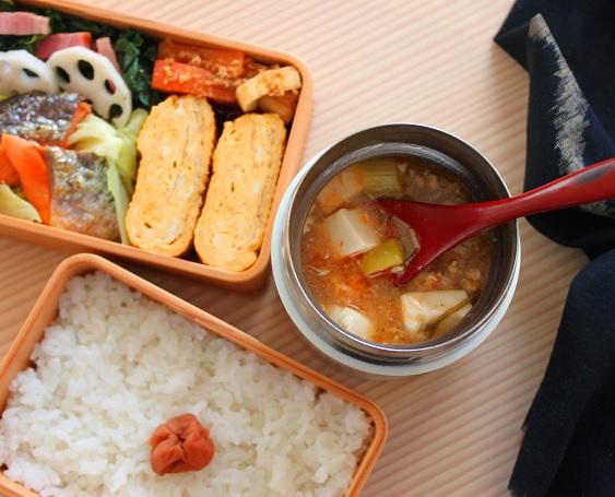 味がしみて美味しい!簡単ほかほか「マーボー豆腐」のお弁当 by :料理研究家 かめ代さん