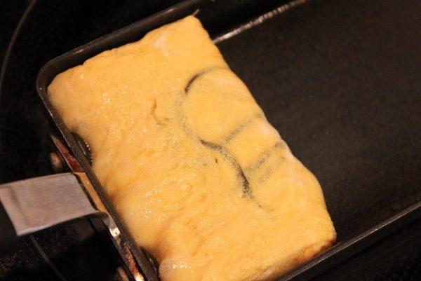 塩昆布卵焼き