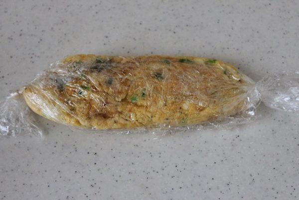 ねぎチーズオムレツ