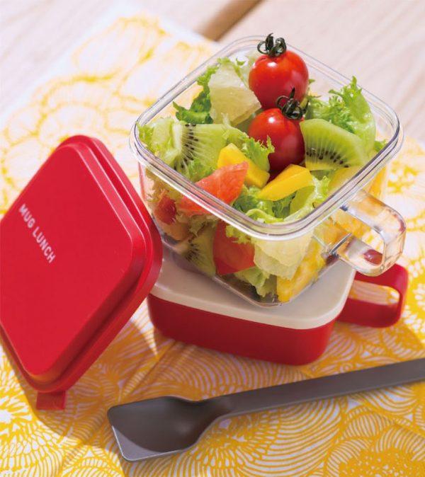 出先でもサラダが新鮮!野菜をふんわり盛れる「サラダ用ランチボックス」