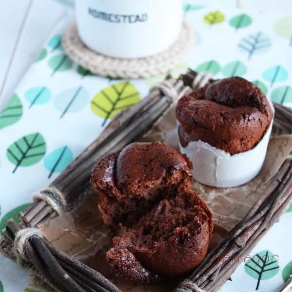 材料3つだけ!紙コップで簡単「ふわふわチョコレートケーキ」