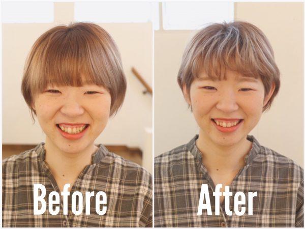 たった3分で簡単!カールアイロンを使った「ふんわり前髪」