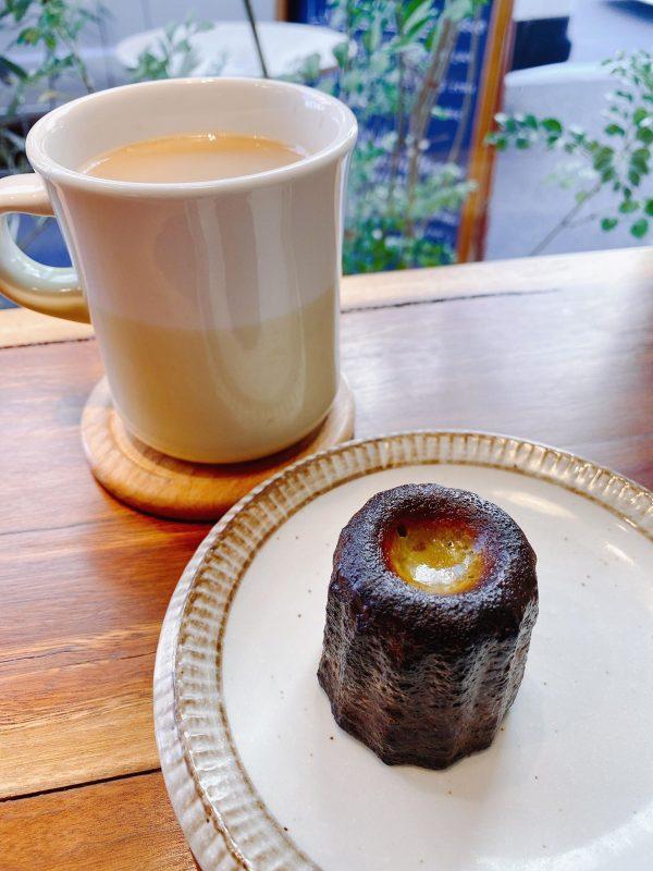 抹茶のカヌレ