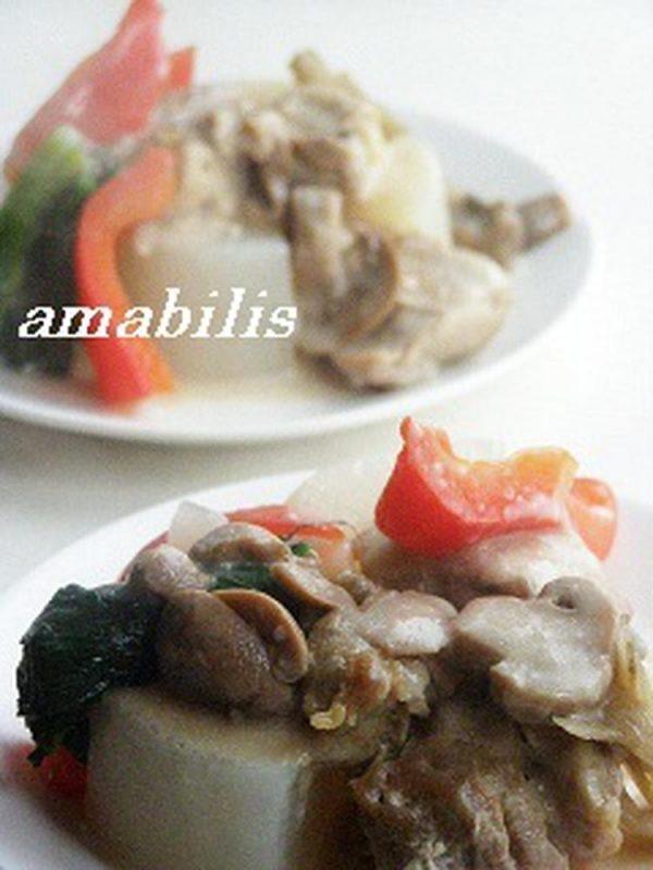 (鶏大根  by :amabilisさん)