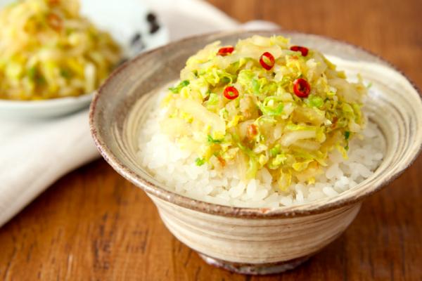 白いご飯が進む!簡単作り置き「白菜のだしポン酢漬け」