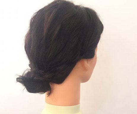 美容院に行く余裕がない朝に フォーマル対応 華やかヘア の作り方