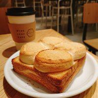【京都】厚切り大迫力の「マシュマロトースト」がおいしい!@BLUE LEAF CAFE 京都