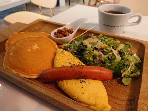【大阪】休日限定!贅沢すぎるパンケーキブランチ@Micasadeco&Cafe