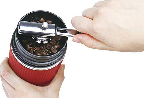 OUTDOOR MAN ポータブル コーヒーメーカー レッド KK-00417RD