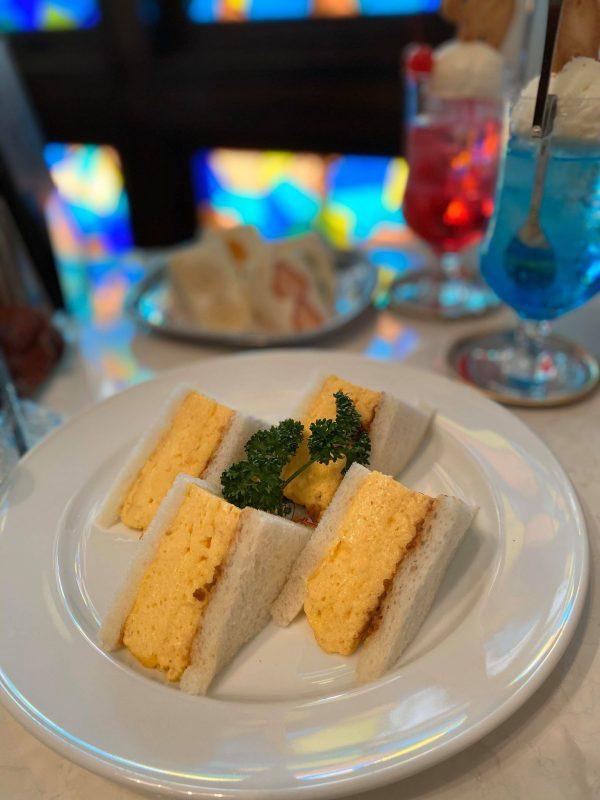 【千歳船橋】新しいのに懐かしい!「喫茶パオーン」の肉みそ入り玉子サンド♪