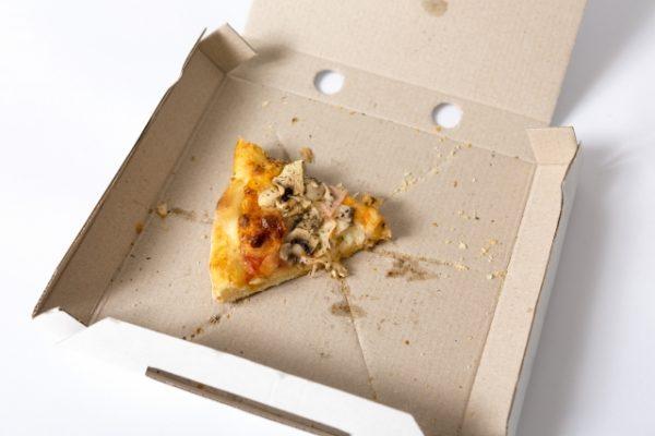 ピザの残り物