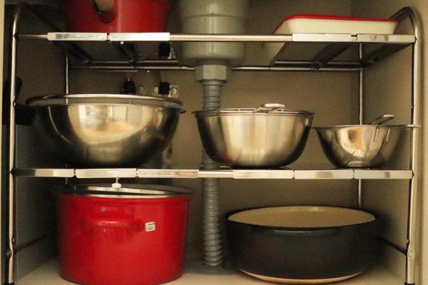 毎日の料理がラクになる♪「シンク下・コンロ下」の収納術4つ