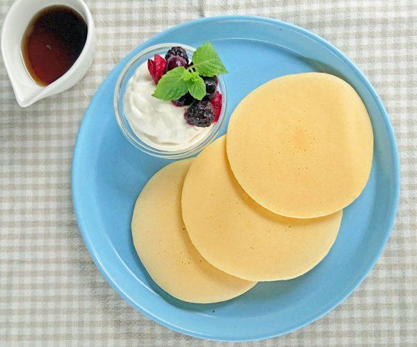 フンワリもちもち、ツルンときれい!「基本のパンケーキ」 by :料理家 村山瑛子さん