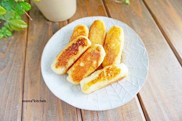 もっちりホクッ♪塩バター味の「じゃがいも餅」簡単作り置き by :Mayu*さん