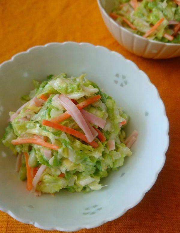 無限に食べられそう♪サラダの定番「春野菜のコールスロー」 by :料理家 村山瑛子さん