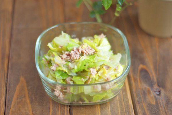 作り置きなのにすぐ無くなるおいしさ!「春キャベツとツナの旨塩サラダ」 by :Mayu*さん