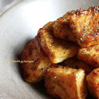 ご飯がすすむヘルシーおかず!簡単「テリヤキ豆腐ステーキ」♪