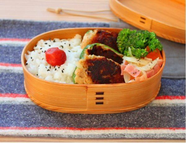 カレー味でご飯が進む!「ツナ詰めピーマン」「ブロッコリーレンジ炒め」2品弁当