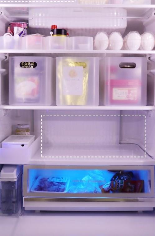 使いやすい「見える化冷蔵庫」