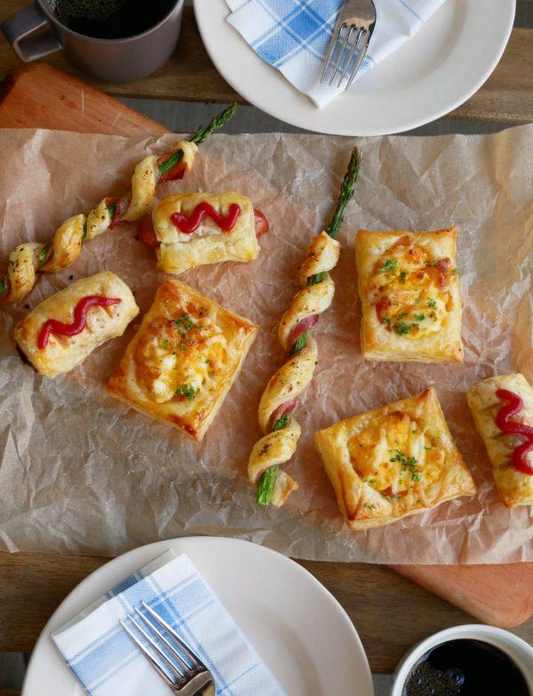 大人も子供も楽しめる!冷凍パイシートで簡単「おかずパイ」3レシピ