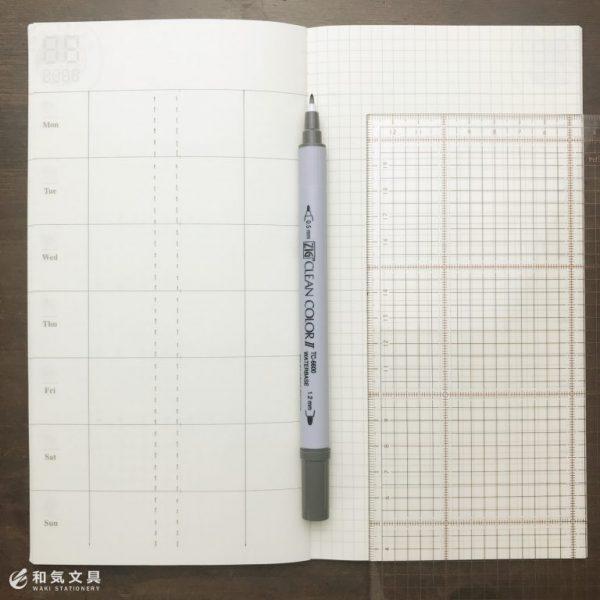 プチバーチカル手帳