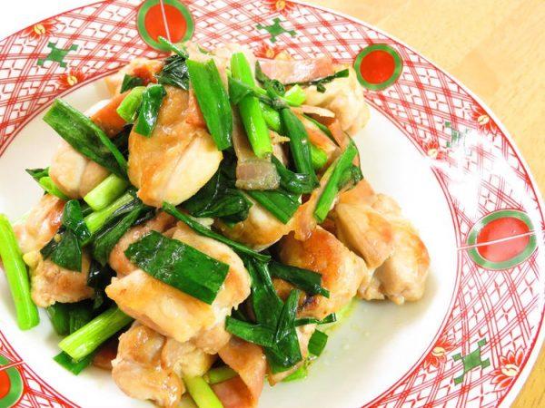 鶏肉と青ネギのにんにく醤油☆お弁当にも♪ by:kaana57さん