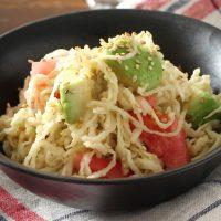 簡単ヘルシー朝ごはん♪手軽でベンリな「切干大根」サラダ2種