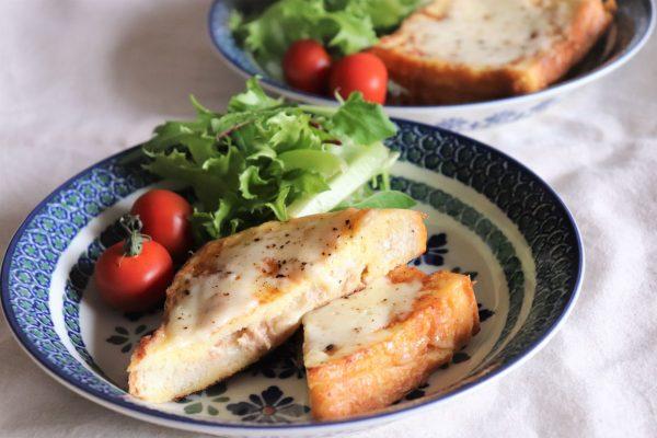 マンネリ脱却!おうちで簡単カフェ風朝食「ツナメルトフレンチトースト」