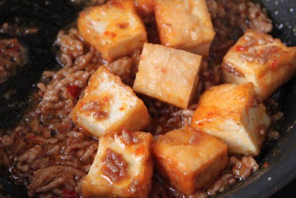 厚揚げマーボー豆腐