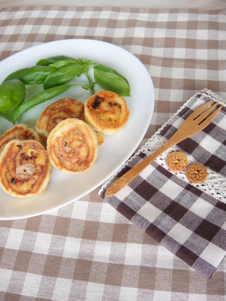 フライパンで!ドライトマトとチーズのパン☆ by:やすへちゃんさん