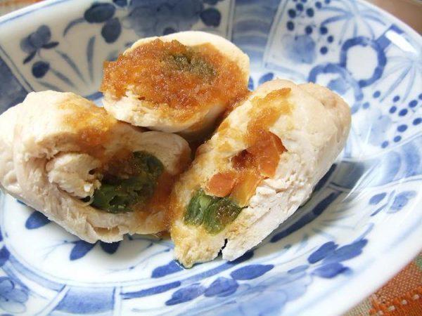 鶏ささみの蒸し焼き by:やまがたんさん
