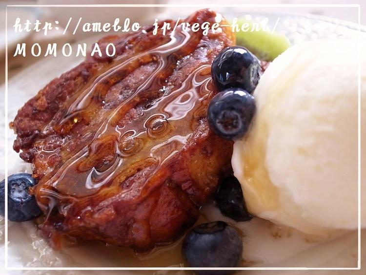 こしあん入り♪豆乳フレンチトースト by:MOMONAOさん