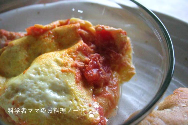 酢っぱ美味しいトマトオムレツ by:nickyさん