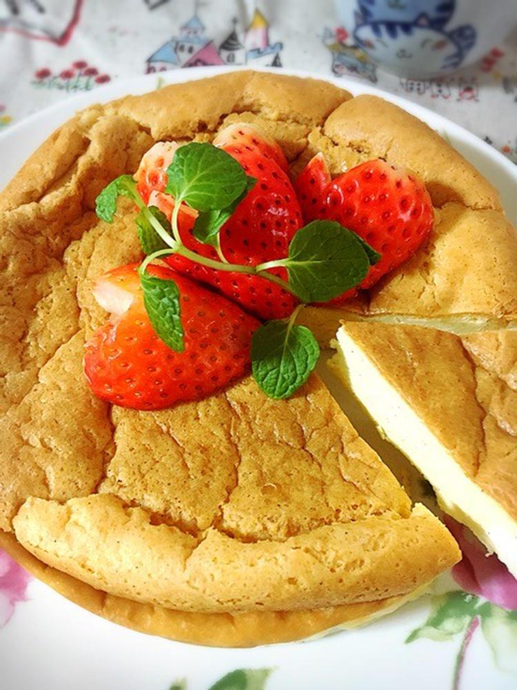 お砂糖なし!低糖質バニラチーズケーキ by:Misuzuさん