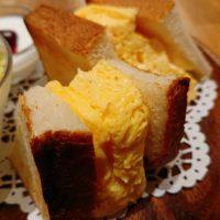 【大阪】迫力あり!厚焼き玉子サンドもケーキも選べるモーニング@コカルド ラ・テラス