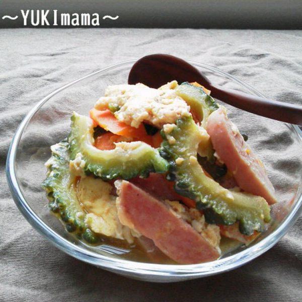 ひ孫も食べる~お婆のゴーヤチャンプル~(作り置き) by:YUKImamaさん